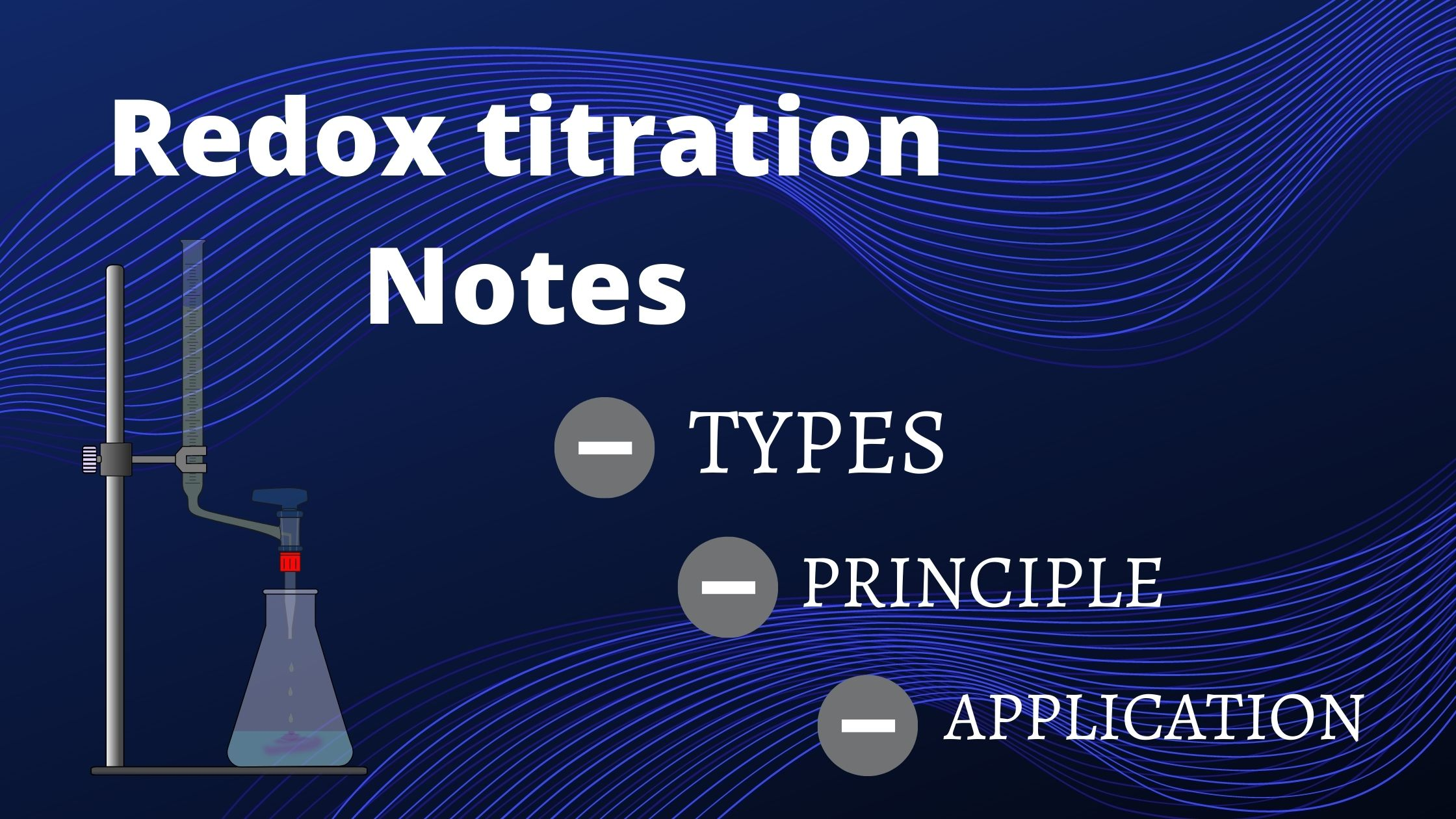 Redox Titration | Notes